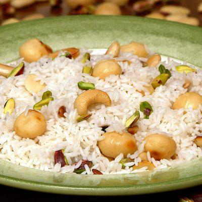 Ρύζι Basmati με ξηρούς καρπούς