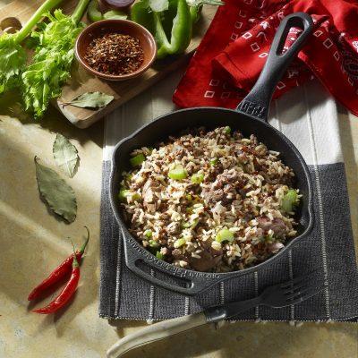 Πικάντικο ρύζι από τη Νέα Ορλεάνη των ΗΠΑ