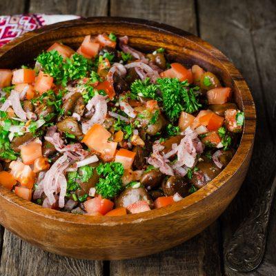 Κουκιά ξερά σαλάτα